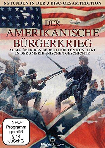 Der Amerikanische Bürgerkrieg [3 DVD Box]