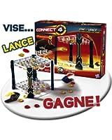Hasbro - 987901010 - Jeu d'action et de Réflexe - Puissance 4 Flip