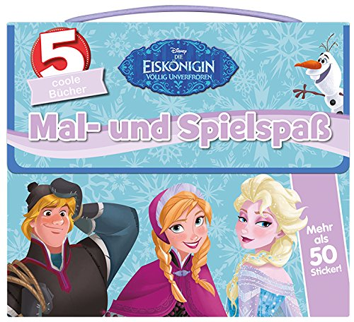 disney die eisk nigin mal und spielspa 5 coole b cher und mehr als 50. Black Bedroom Furniture Sets. Home Design Ideas