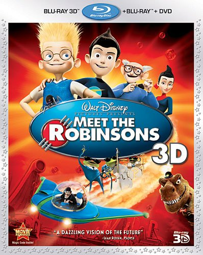 Cover art for  Meet The Robinsons (Three-Disc Combo: Blu-ray 3D/Blu-ray/DVD)