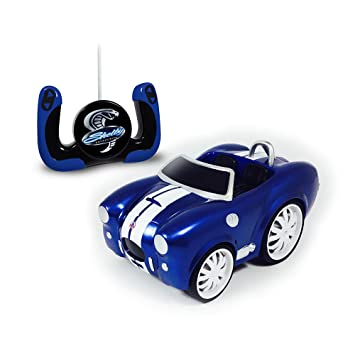 Shelby Collectibles Chunky RC AC Cobra Vehicle, Blue