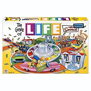 Hasbro The Game of Life Simpsons Edition