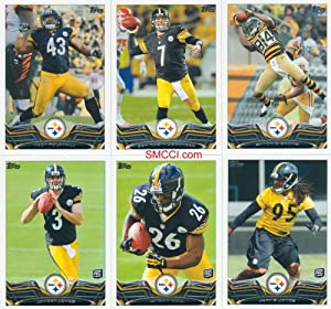 Pittsburgh Steelers 2013 Topps Complete Regular Issue 11 Card Team Set Including Ben... by Pittsburgh Steelers Team Set