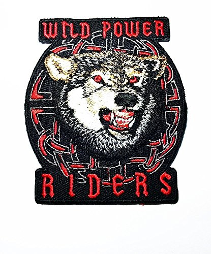 Lone Wolf Fox Dog Wild Animal Choppers Lady Rider Biker Tattoo Motorcycle Jacket Vest Biker Patch # WITH FREE GIFT# WITH HIGH QUALITY BY SONATA
