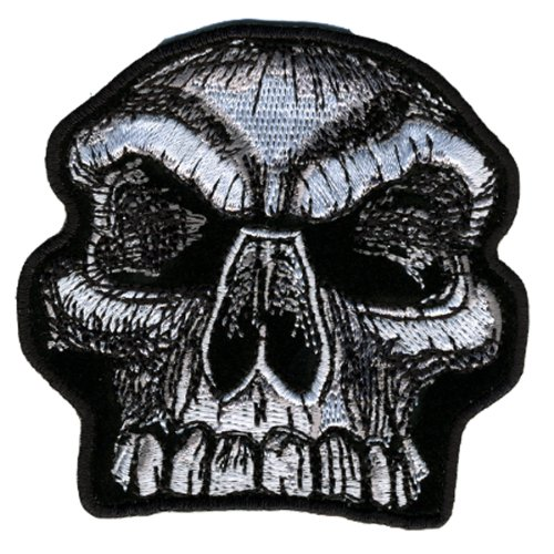 Hot Leathers Skull Knob Patch (3