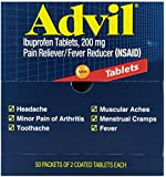 Acme United Corporation ACE 15000 Advil- 2 Tablets per Pack - 50 Packs
