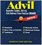Advil Tablets Pain Reliever Refill,20...