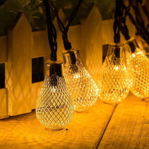 String Lights Vase : Solar Powered String Lights 20 Led Vase Shape 2 Modes Waterproof Warm White Solar String Lights ...