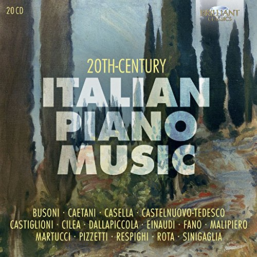 20th Century Italian Piano Music (20CD)