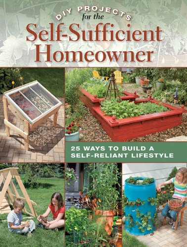 Download DIY Projects for the Self-Sufficient Homeowner: 25 Ways to Build a Self-Reliant Lifestyle