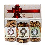 100% Nutty Gritties Festival Gift Set- Gourmet Nuts- I- 540g