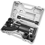 XtremepowerUS Torque Wrench Labor Saving Lug Nut Wrench Torque Multiplier W/Cr-v Socket (Torque Wrench W/ 4 Socket)
