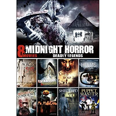 8-Film Midnight Horror Collection V.13