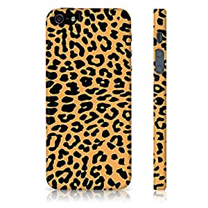 Apple iPhone 5/5S Leopard Print Pattern Printed Designer Mobile Phone Case Back Cover by Be Awara - Matte Finish