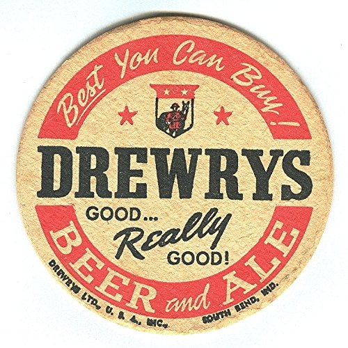 vintage-drewrys-beer-and-ale-coaster-best-you-can-buy-goodreally-good