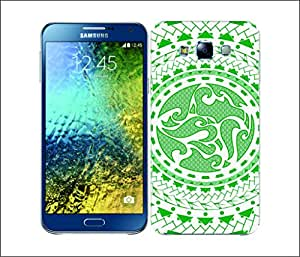 Galaxy Printed 2628 Polynesian Wave Hard Cover for Samsung S3