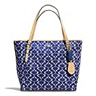 COACH PEYTON DREAM C ZIP TOP TOTE 27350 NAVY