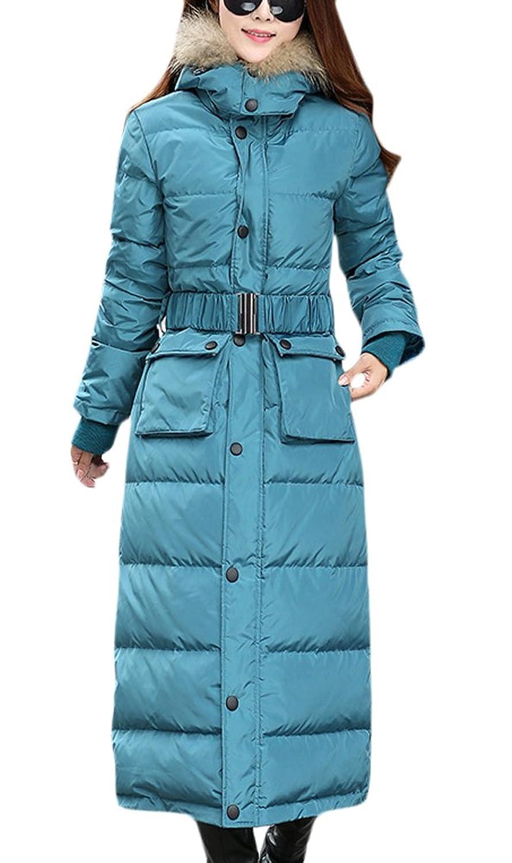 Damen Daunenmantel Winterjacke Kapuzen Daunenjacke Reißverschluss online kaufen