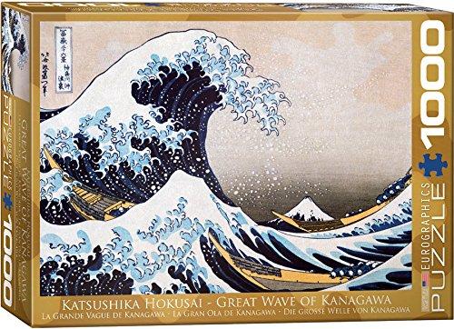 EuroGraphics Great Wave Kanagawa by Hokusai Puzzle (1000-Piece)
