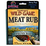 Hi-Country Snack Foods Domestic Meat and WILD GAME 7 oz. Prime Rib Meat Rub Spice Mix (2... by Hi-Country Snack Foods