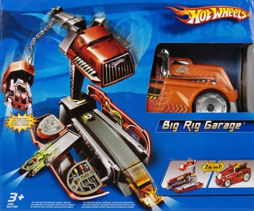Hot Wheels Big Rig Garage Playset - Buy Hot Wheels Big Rig Garage Playset - Purchase Hot Wheels Big Rig Garage Playset (Mattel, Toys & Games,Categories,Play Vehicles,Vehicle Playsets)