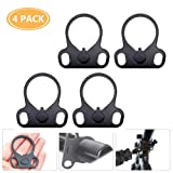 Ar15 End Plate,Ar15 Slinggs Adapter Mount,Ar15 Accessories Hand Mount Tools (Color: 4 PACK)