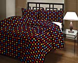 Snoopy Double Bed Multi Colour Chequered Comforter, Quilt (250 GSM)