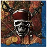 Disney Pirates of the Caribbean 4 Lunch Napkins (16) Party Supplies