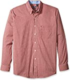 IZOD Mens Big and Tall Long Sleeve Advantage Performance Non Iron Stretch Shirt