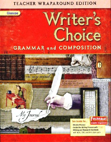 Glencoe Writer's Choice, Gr 7, Teacher Wraparound Ed, 2009, 9780078887697