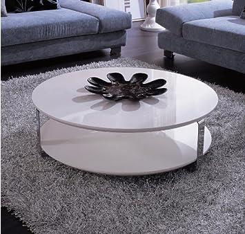 5015C - Modern White Coffee Table White