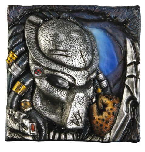 Aliens Vs. Predator Wall Décor, Predator, 13-inches x 13-Inches