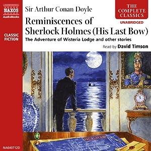 The Reminiscences of Sherlock Holmes Audiobook