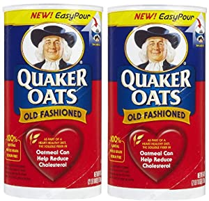 Quaker Oats Old Fashioned 42 Oz 2 Pk