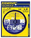 "EazyPower 6"" Hole Saw for CornHole Boards"