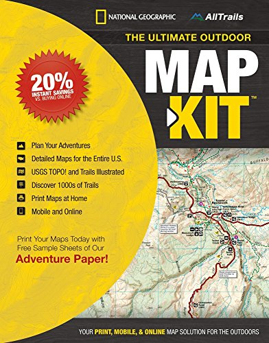 NAT GEO The Ultimate Outdoor Map Kit One Color One Size