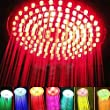 AQURE™ 7 Colours Changing LED Shower Head Romantic Light Home Bathroom Showerhead