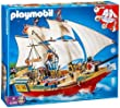 Playmobil 4290 - Jeu de construction - Le Grand Bateau de Camouflage des Pirates
