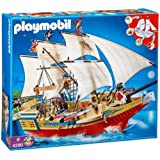 Playmobil 4290 - Jeu de construction - Le Grand Bateau de Camouflage des Piratespar Playmobil