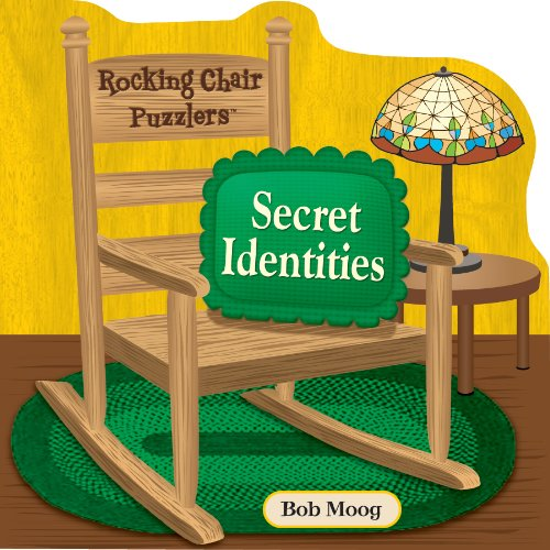 Spinner Books for Adults Rocking Chair Puzzlers Secret Identities