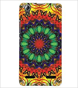 PrintDhaba Pattern D-5189 Back Case Cover for LENOVO A6000 (Multi-Coloured)