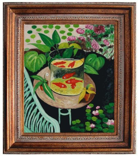 Art Reproduction Oil Painting - Matisse Paintings: Red Fish With ...