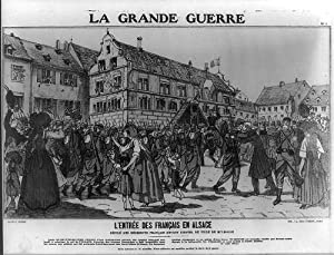 La Grande guerre,francais en Alsace,The Great War,1915