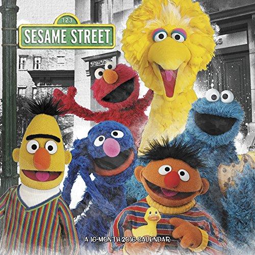 Sesame Street Wall Calendar (2016)