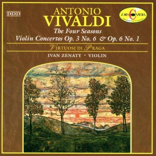 Antonio Vivaldi: The Four Seasons; Violin Concerto Op. 3, No. 6; Violin Conceto Op. 6 No. 1, Ivan Zenaty
