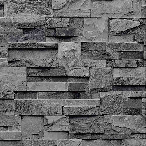 Galerie Slate Effect Scrubbable Wallpaper J27409