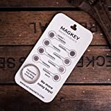 Smart Key Holder and Compact Quiet Organizer for Men & Women ● Premium Waterproof Accessory ● Perfect for Your Pocket, Belt, Purse or Wall ● 2015 Stainless Steel Best Keychain Ring