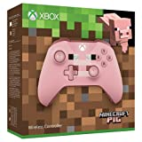 MICROSOFT Xbox ONE/PC Controller Wireless Minecraft Pig Pink Special Limited Edition [EU Import] (Color: Pink)