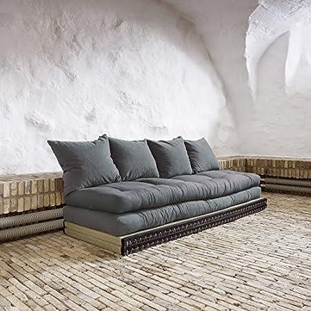 Karup–Canapé Chico, futon sur tatami, c'est un canapé ou un lit... jusqu'à vous