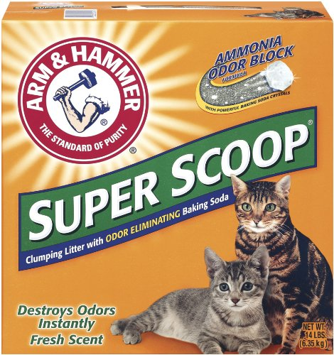 Artikelbild: Arm & Hammer Super Scoop Litter, Fresh Scent, 14 Lbs by Arm & Hammer